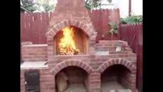 Gratar de gradina din caramida zilele  6-7 / Brick BBQ day 6-7