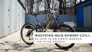 Wszystkie moje rowery czyli...na czym to się kiedyś jeździło