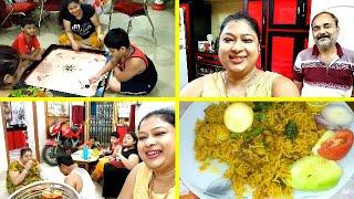 বাপের বাড়িতে জমিয়ে আড্ডা সাথে মহাভোজ - ঝটপট চিকেন টিক্কা বিরিয়ানি🍲🍗 Bengali Vlog