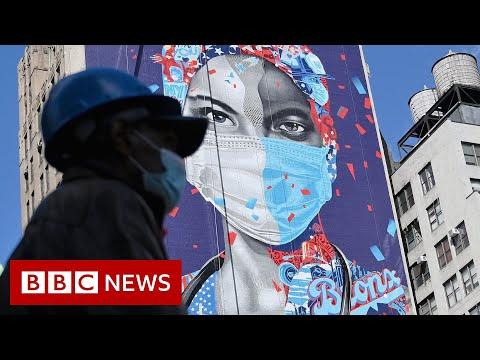 Coronavirus: US unemployment claims hit 33.3 million amid virus - BBC News