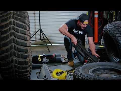M/T Garage Series - Rockstar Garage Gridlock CJ Jeep