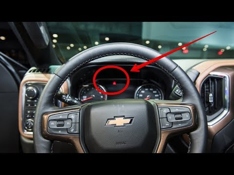2019 Chevrolet Silverado 1500 Interior - YouTube