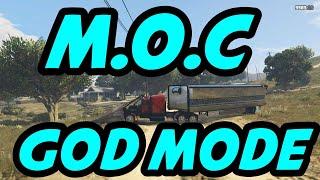 GTA 5 SUPER EASY M.O.C GODMODE IN 1 MIN/GTA 5 GODMODE GLITCH/GTA V TROLL PLAYERS EASY MOC GODMODE!!