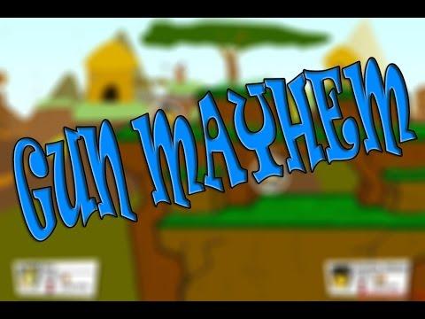 [Flash игры] Gun Mayhem - Стрелялка на двоих!