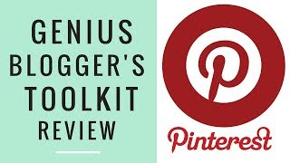 PINTEREST GROUP BOARDS MASTERLIST ● GENIUS BLOGGER'S TOOLKIT BUNDLE HIGHLIGHT REVIEW