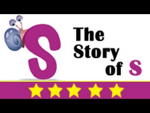Alphabet Songs - Story Of Letter S for Nursery Kids