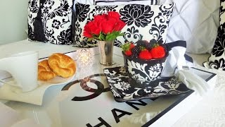 Butler's Tray Table Turned Diy Chanel Bedside Table