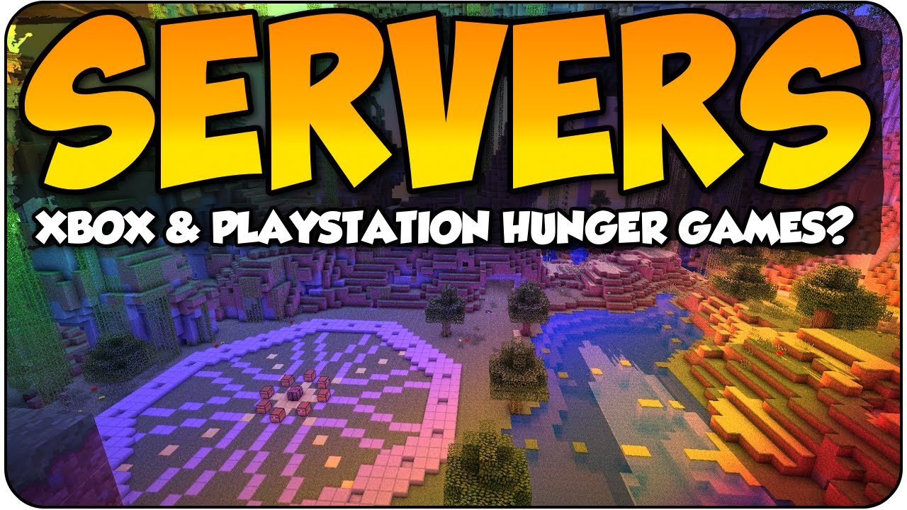 MineCraft Hunger Games Servers For Console 2016? Xbox One & PS4 Servers &  Price Discussion