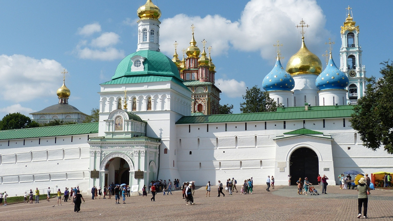 Sergiev Posad. The citys attractions