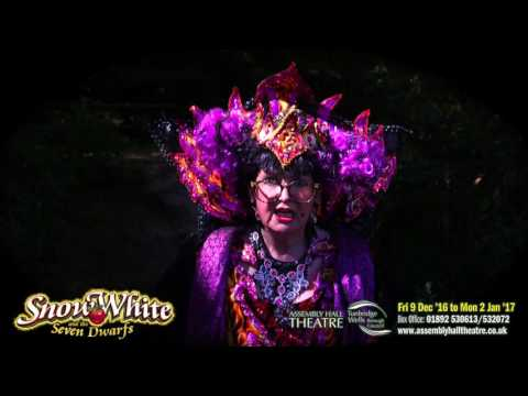 Su Pollard as The Wicked Queen in Snow White and the Seven Dwarfs
