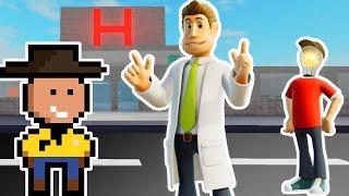 HOSPITAL DO TEX (Two Point Hospital)