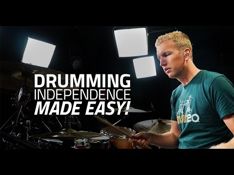 Independence Made Easy with Jared Falk  - Drum Lesson (Drumeo)