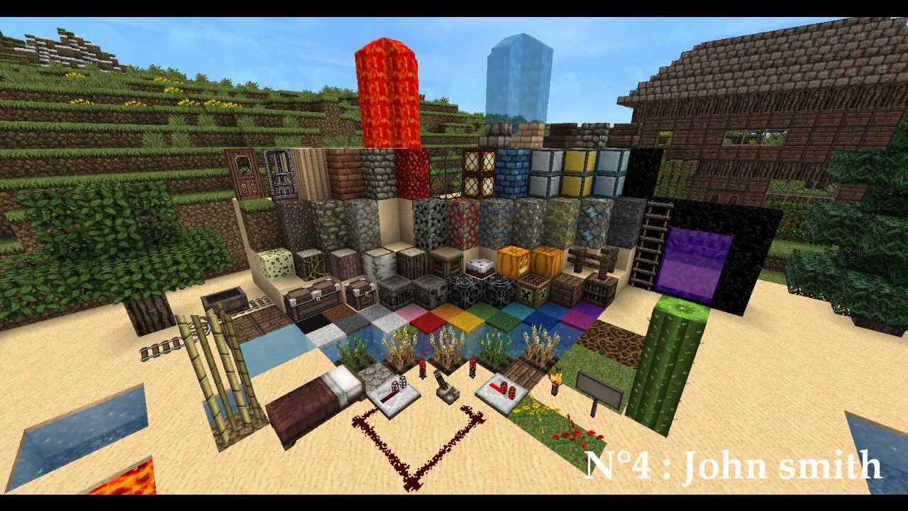 Minecraft : Top 5 Texture Pack