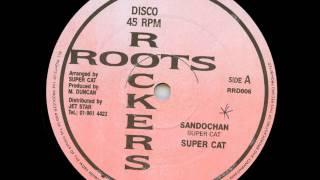 "Super Cat - Sandochan + Dub - 12"" Roots Rockers 1987 - FULL UP RIDDIM 80'S DANCEHALL"
