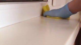 Мытье подоконника(, 2016-02-17T12:28:30.000Z)