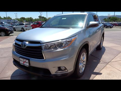 2016 Toyota Highlander Hybrid Limited Platinum - Full Take Review