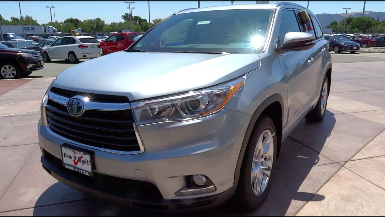 2016 Toyota Highlander Hybrid Limited Platinum Full Take Review