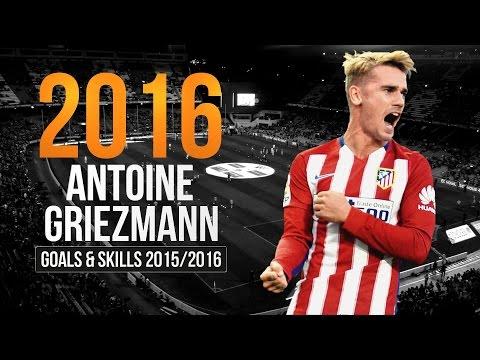 Antoine Griezmann ● 2015/2016 ● Amazing Goals & Skills ● Atletico Madrid