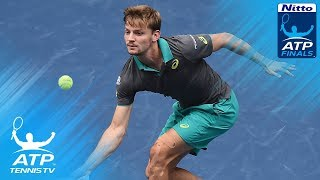 Goffin upsets Nadal; Dimitrov edges Thiem | Nitto ATP Finals 2017 Highlights Day 2