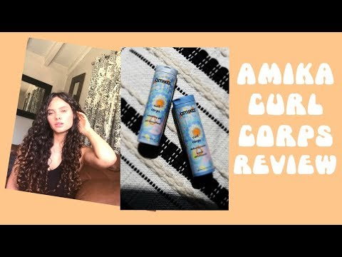 Amika Curl Corps Review: Wash and Go + Second Day