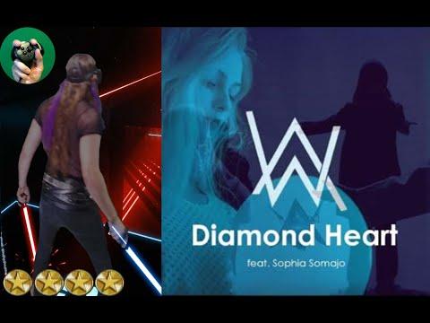 Beat Saber - Diamond Heart - Alan Walker ft. Sophia Somajo - Expert Perfect Full Combo by EnderDrew
