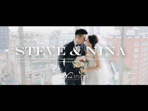 [婚禮錄影] 晶華酒店 Steve & Nina  微電影婚禮紀錄