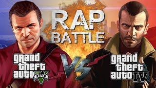 Скачать Рэп Баттл GTA 5 Vs GTA 4