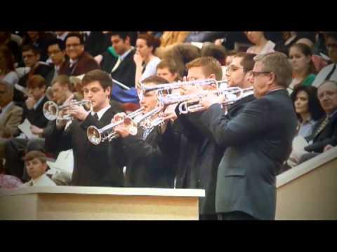 Fanfare Trumpets at Bob Jones University Graduation