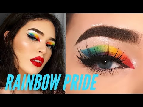 RAINBOW PRIDE MAKEUP 🌈✨
