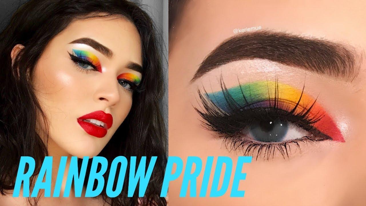 Rainbow Pride Makeup Youtube