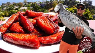 HOW TO MAKE SMOKED CANDY SALMON - Full Recipe