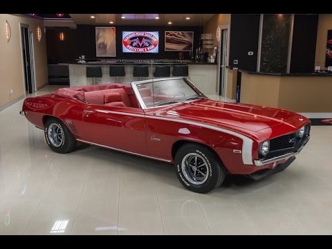 1969 Chevrolet Camaro Convertible For Sale
