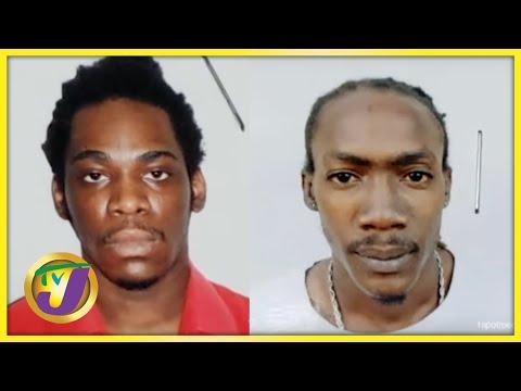 2 Prisoners Escape from Hunts Bay Police Lockup | TVJ News - August 6 2021
