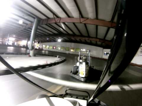 GoPro on a rental kart