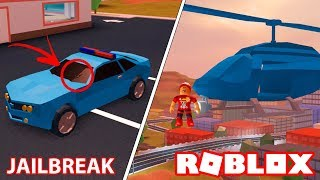 Roblox → SHOOT DRIVING CAR and WALK in the SKY!! -Glitch Jailbreak 🎮