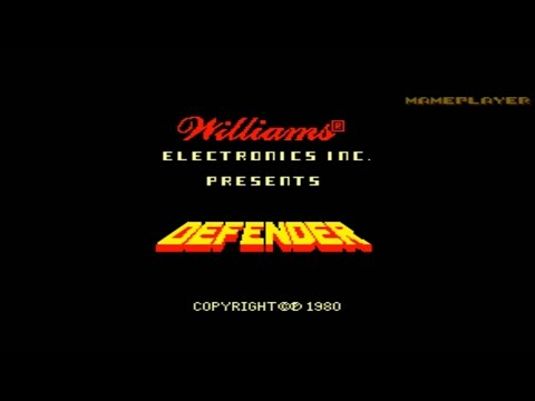 Defender (Red Label) 1980 Williams Mame Retro Arcade Games