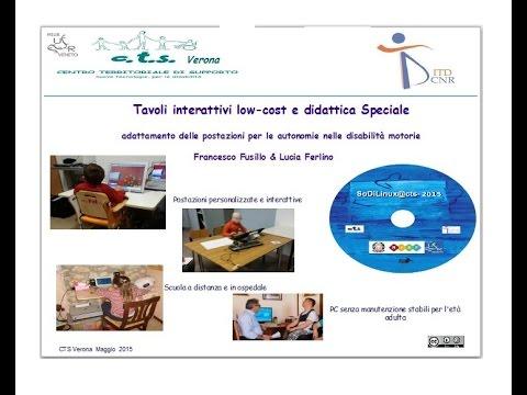 Tecnologie didattiche open source e low cost per la - Tavoli interattivi ...