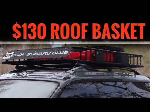 Cheap AMAZON Roof Basket! | 7 Month Review