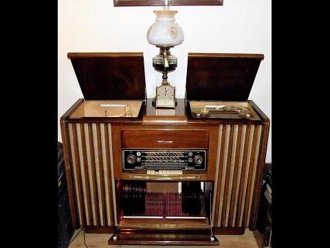 1950's Hi-Fi Grundig Radiogram 1954/5