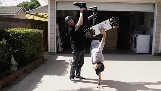 Mike Vallely Teaches Chris Roberts Street Plants