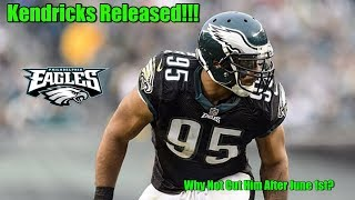 Eagles Double Moonwalk Mychal Kendricks!!! This Should Be An After June 1st Cut Saving 6 Million?