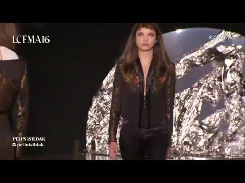 LCF MA16 womenswear catwalk show