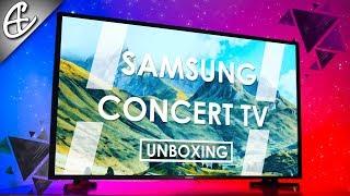 Samsung Smart Concert TV - Unboxing & Overview!