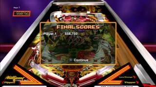 Williams Pinball Classics (video 3) (Playstation 3)