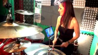 MUSE- Hysteria - drum cover by Maleh Branca