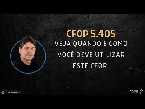 CFOP 5405 - Como e quando utilizar