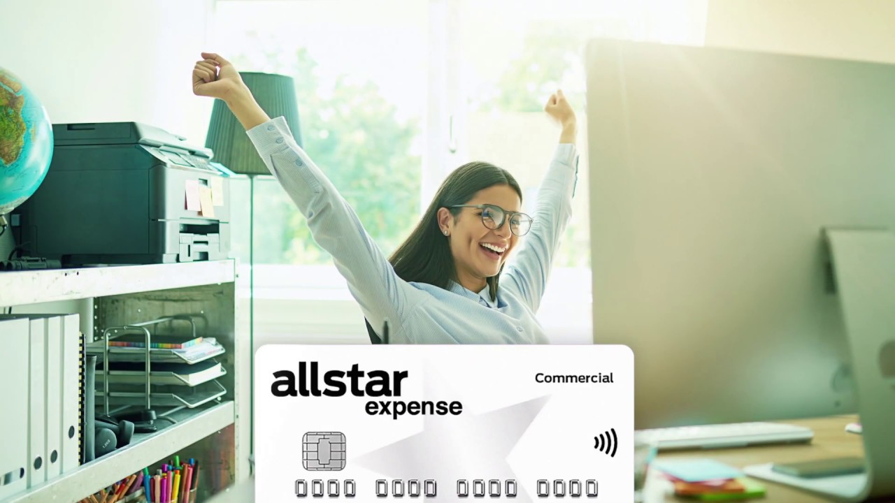 allstar expense business credit card  youtube