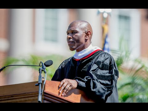 Dr. Howard Speaks at Christopher Newport University Commencement