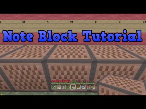 Minecraft Xbox 360 - Note Block Song Tutorial (How To Make Songs)