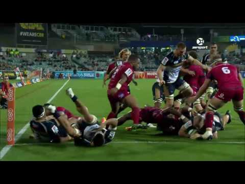 2017 Super Rugby Round 7: Brumbies v Reds